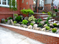 outdoor landscape contractor