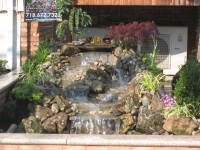 Waterfall feature in queens